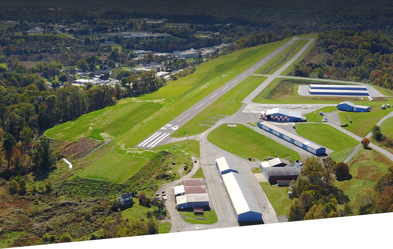 new garden aircraft flying field reconstruction project in pennsylvania