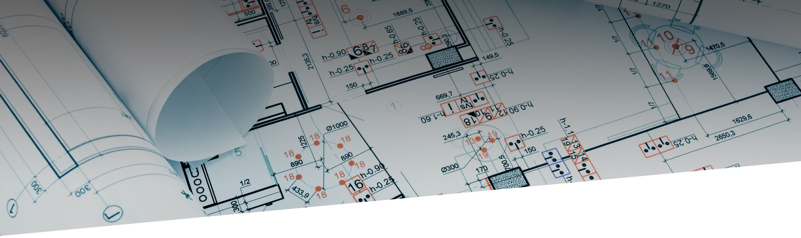 facility architectural blueprints